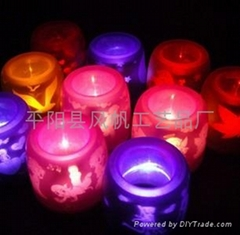 Voice control lamp/ candle lamp / Colorful Night Light / Night Light mood