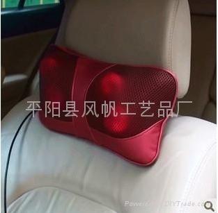 魔能枕车载和家用按摩枕 红外线热灸按摩器 Massagers 3