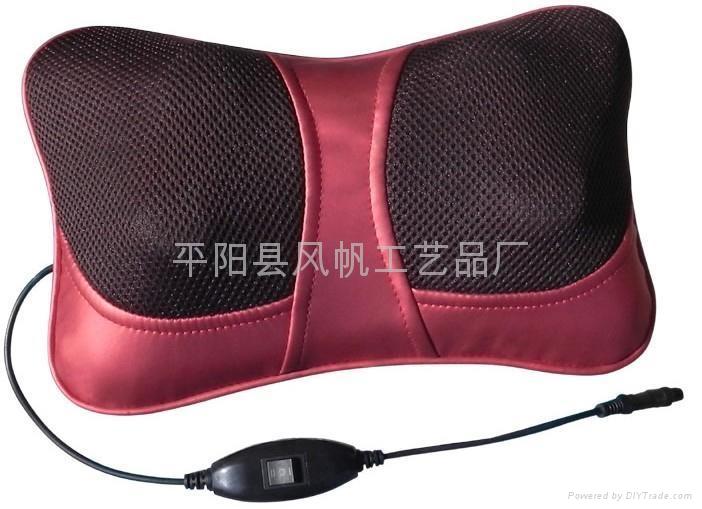 魔能枕车载和家用按摩枕 红外线热灸按摩器 Massagers 4