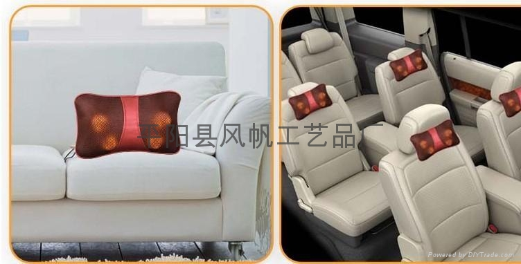 魔能枕车载和家用按摩枕 红外线热灸按摩器 Massagers 5