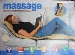 加熱按摩床墊 按摩靠墊 按摩器 按摩床 Massager