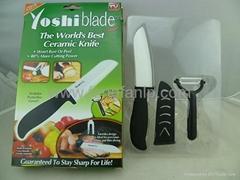 Ceramic knives set Kitchen knives mini