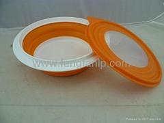 storye bowl folding fruit tray kitchen supplies