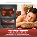 Home Car Dual-use Massage Pillow Cervical Lumbar Leg  Heating Body Massager 3
