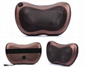 Home Car Dual-use Massage Pillow Cervical Lumbar Leg  Heating Body Massager 7