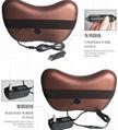 Home Car Dual-use Massage Pillow Cervical Lumbar Leg  Heating Body Massager