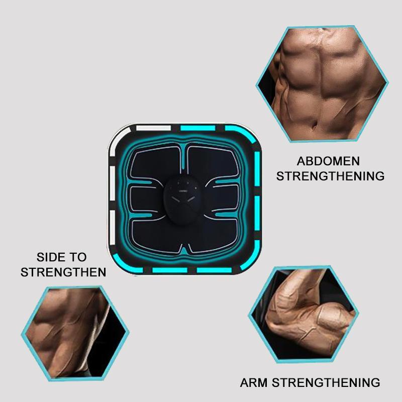 智能卷腹器輪健腹儀懶人家用肌肉健身器材減肥腹肌貼 4