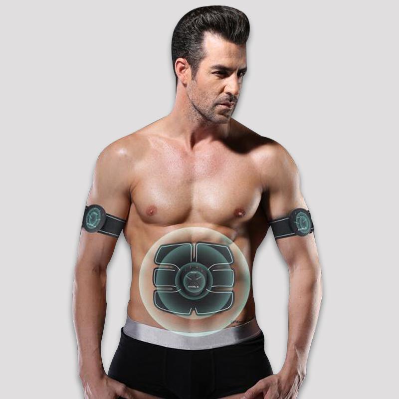 智能卷腹器輪健腹儀懶人家用肌肉健身器材減肥腹肌貼 3