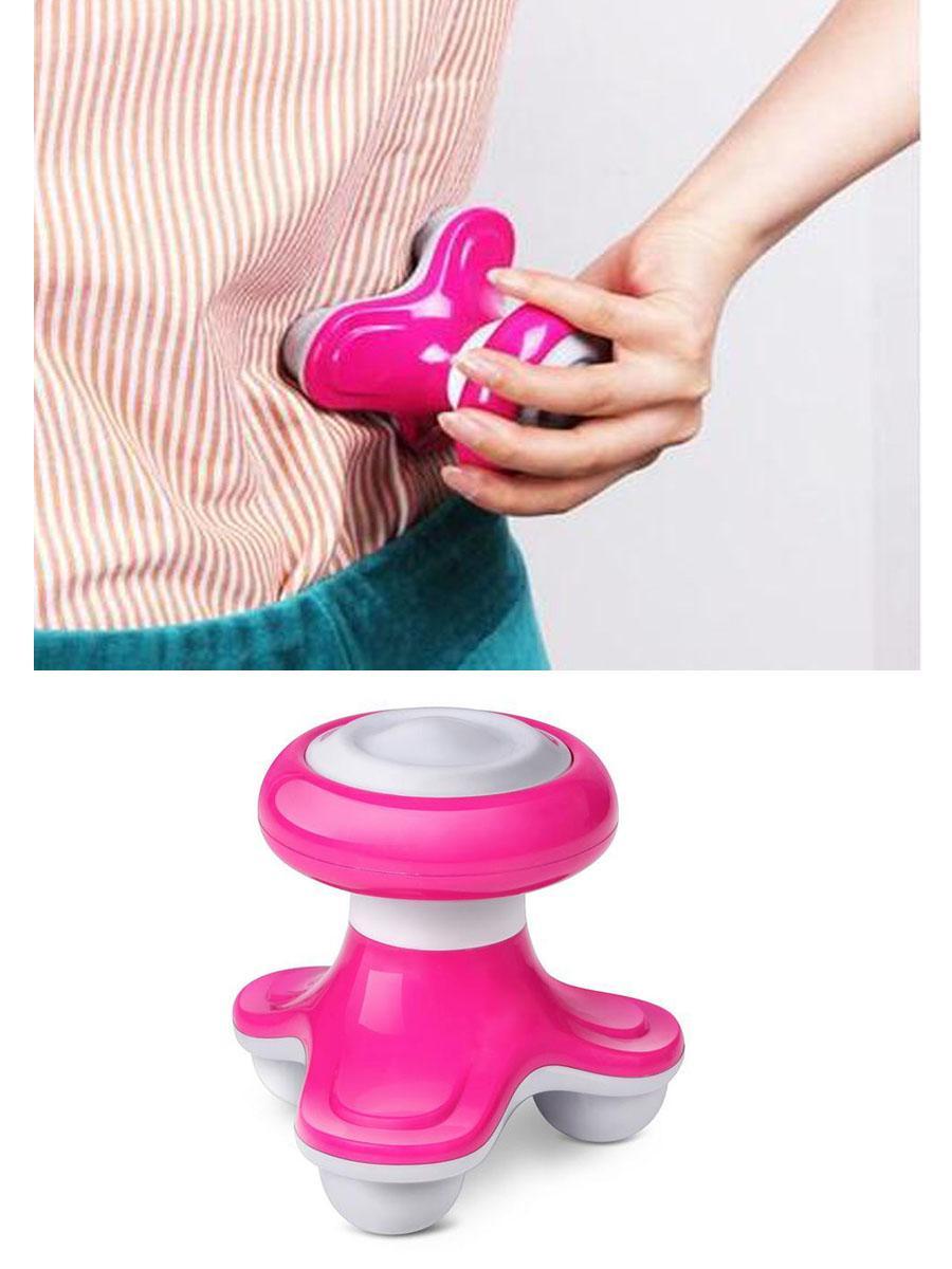 迷你按摩器 创意小型按摩器 三角按摩器 迷你按摩器 三脚按摩器 7