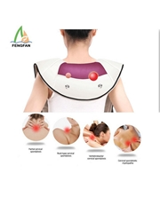 Neck Shoulder Massage Body Instrument Health Care Machine Vibration Belt