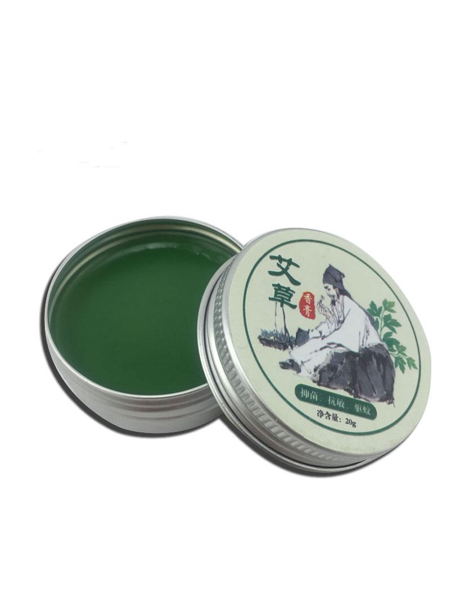 天然草本精华 艾草香膏 量大价优香膏清凉油艾灸精油艾叶膏艾草油 2