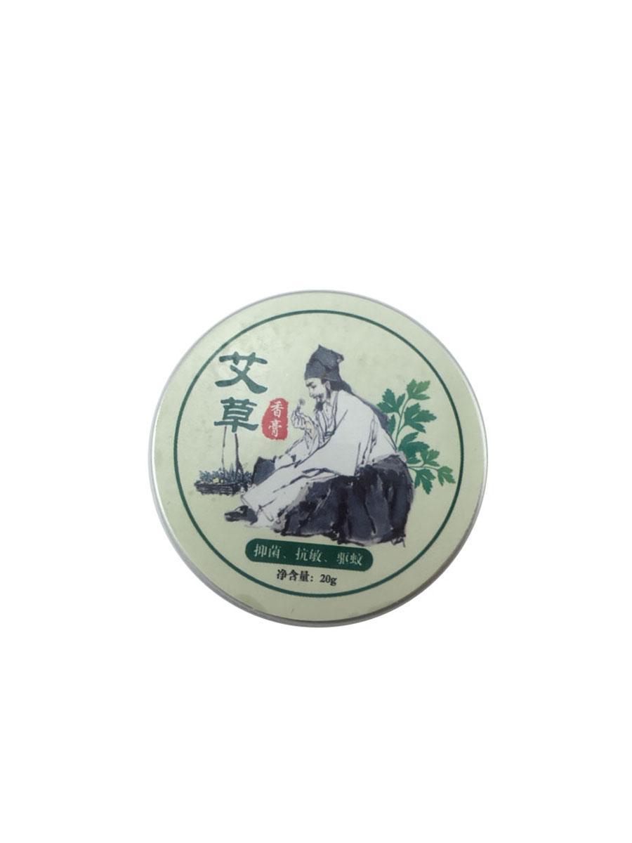 天然草本精华 艾草香膏 量大价优香膏清凉油艾灸精油艾叶膏艾草油 5
