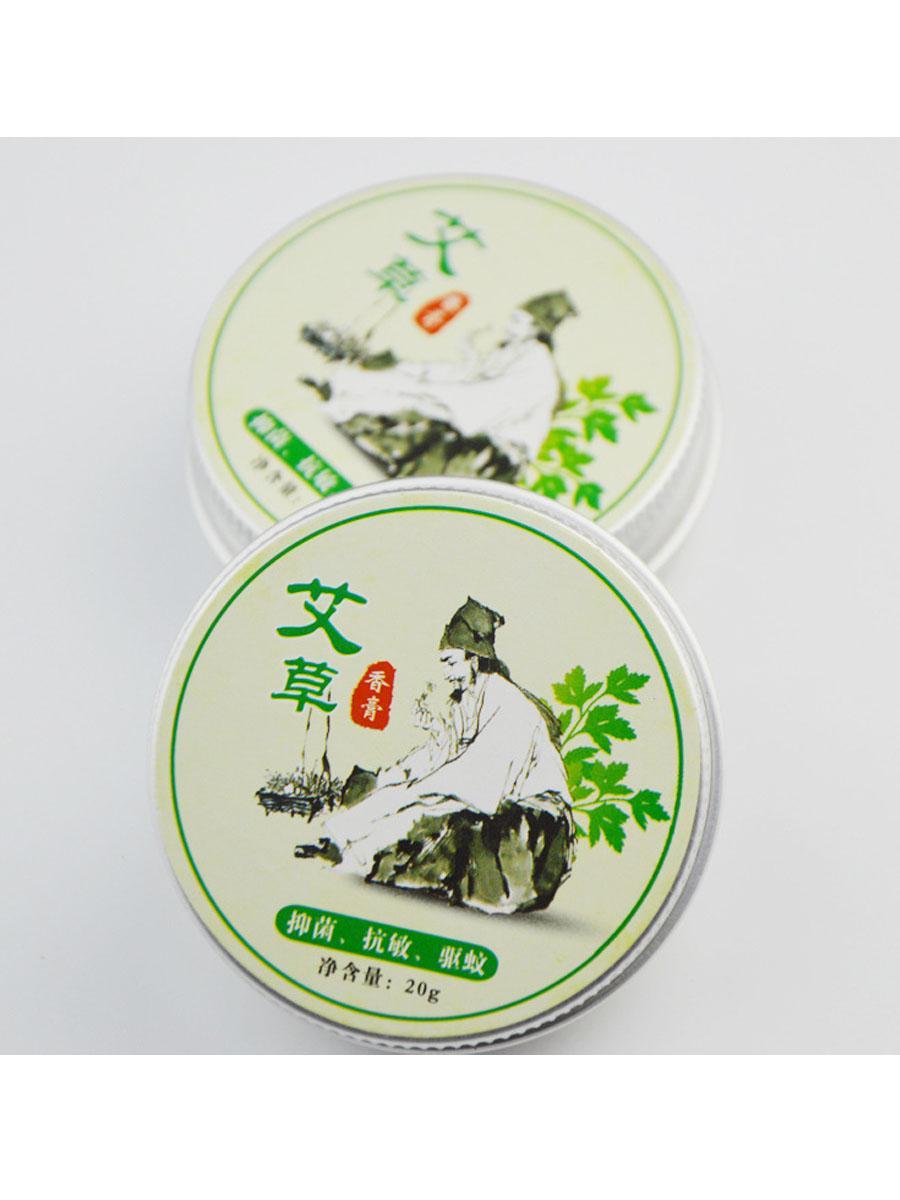 天然草本精华 艾草香膏 量大价优香膏清凉油艾灸精油艾叶膏艾草油 6
