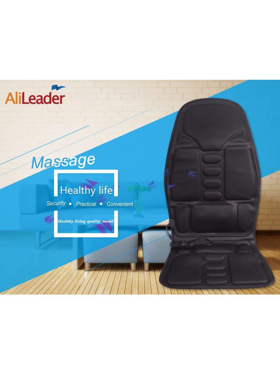 全身按摩汽車坐墊 多功能電動按摩毯梯型新款 保健按摩坐墊 2