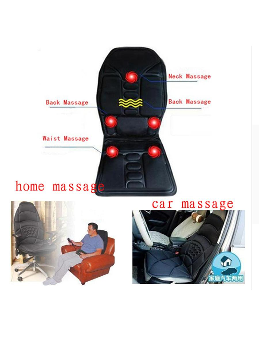 全身按摩汽車坐墊 多功能電動按摩毯梯型新款 保健按摩坐墊 4