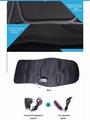 全身按摩汽车坐垫 多功能电动按摩毯梯型新款 保健按摩坐垫