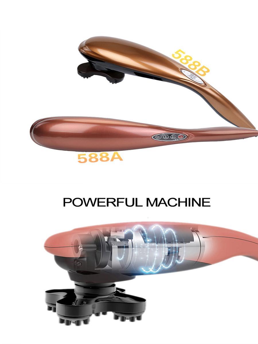 电动按摩器海豚身体后颈腰部乳房手脚脸部按摩 7