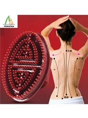 Slimming Weight Collaterals Care Manual CapricornBeauty Body Massage Brush.
