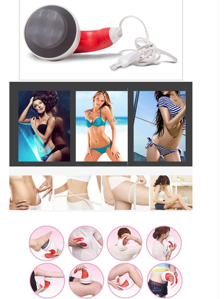小懶推脂機美容按摩儀瘦身消脂多功能按摩器震動刮紅外按摩器。 5