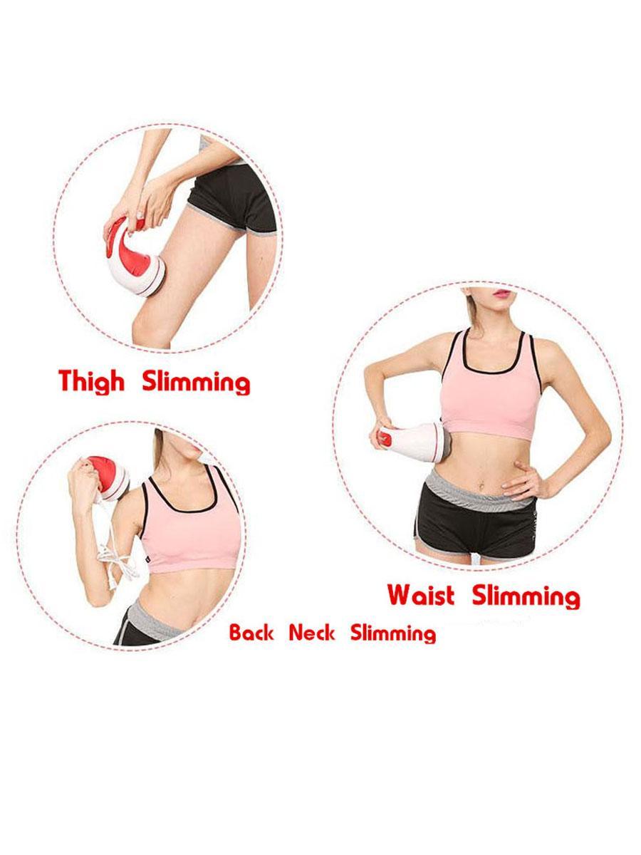 小懶推脂機美容按摩儀瘦身消脂多功能按摩器震動刮紅外按摩器。 7