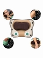 多功能按摩枕头 电动家用按摩器材颈部腰部背部肩部按摩枕