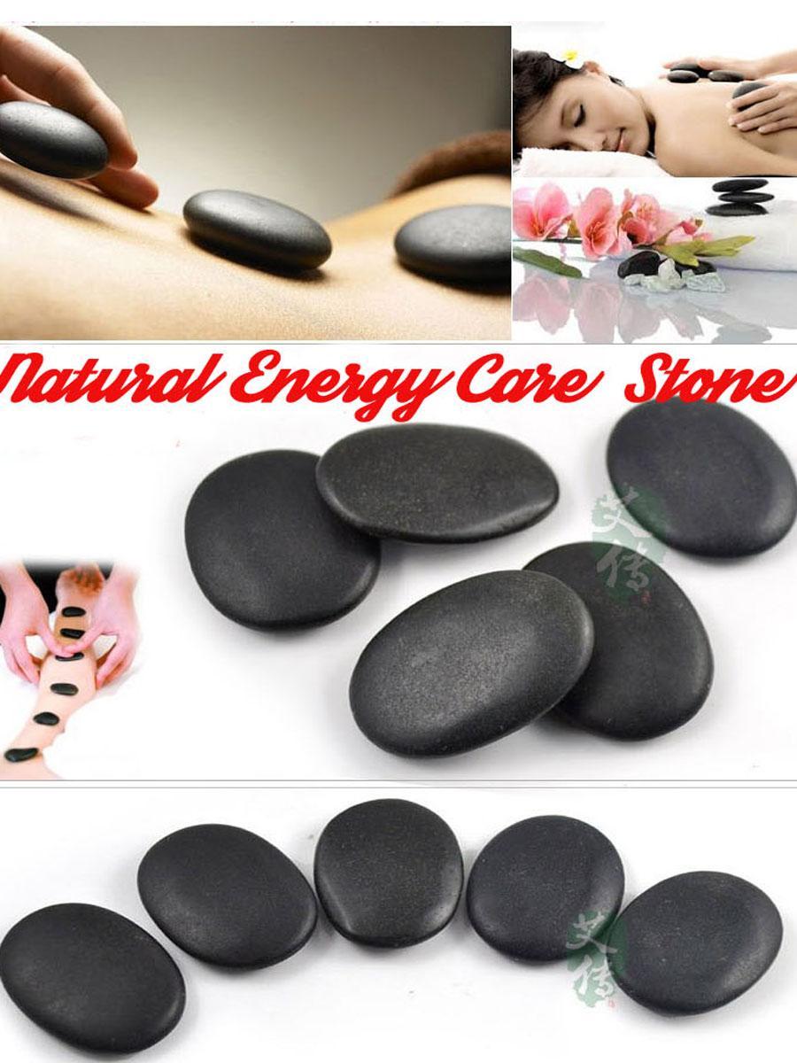 小能量石 美容火山热石 SPA能量石 推拿石按摩精油石 2