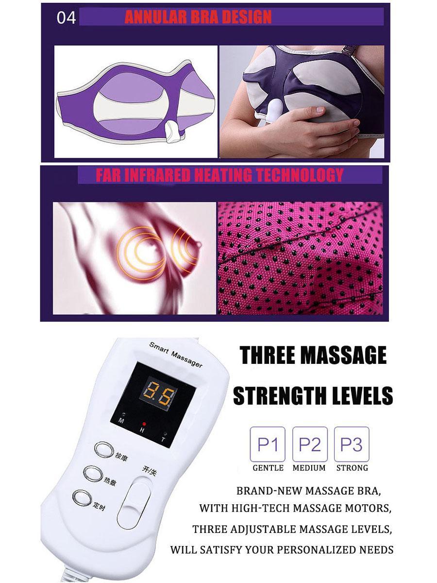 Health Care Beauty Enhancer Grow Bigger Magic Vibrating Massage Bra 3
