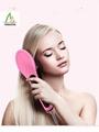 degital  fast brush hair straightener