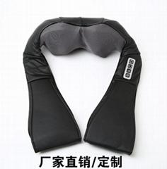 供應揉捏按摩披肩頸椎按摩器頸部多功能車載家用電動肩頸腰