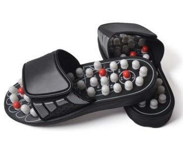 太极旋转按摩拖鞋圆珠带刺足底穴位按摩拖鞋可定制 4