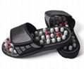 太极旋转按摩拖鞋圆珠带刺足底穴位按摩拖鞋可定制