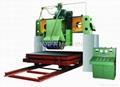 built-up gantry saw of stone cutting machine