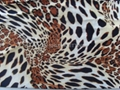 polyester printed knitting fabric