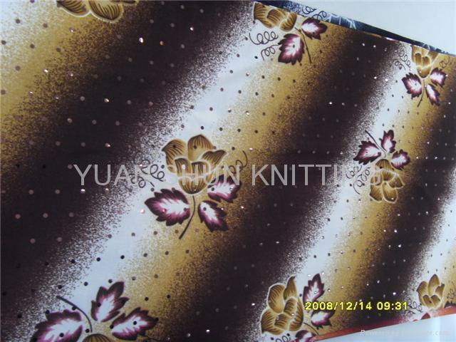 滌綸印花針織布 2