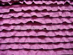 染色牛百葉針織布