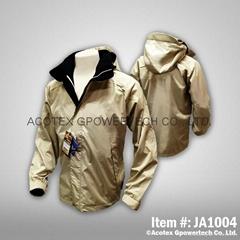 高級防水透濕貼條夾克
