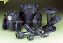 Y-sediment strainers