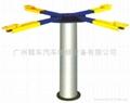 Hydraulic Single post Car lift 1