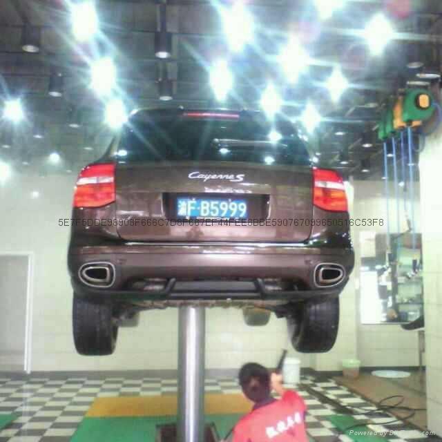 Hydraulic Single post Car lift 3