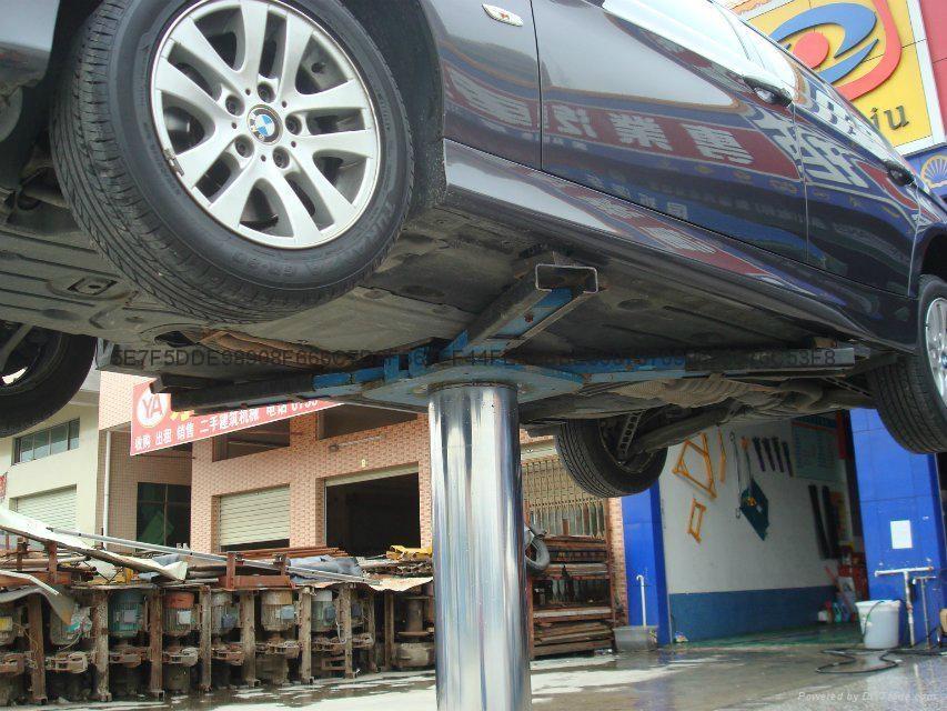 Hydraulic Single post Car lift 4
