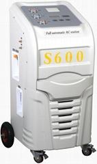 全自動汽車空調冷媒回收加註機