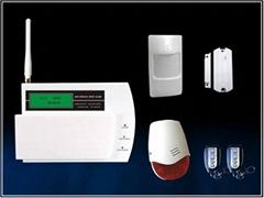 Dual-net GSM+PSTN home alarm system