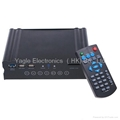 "HDMI VGA USB3.0 3.5"" SATA HD 1080p HD Media Player with Remote Contral 2"