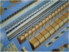 Beryllium Copper finger strips