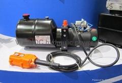 DC hydraulic power unit/power pack