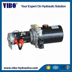 Hydraulic power unit for mobile Table
