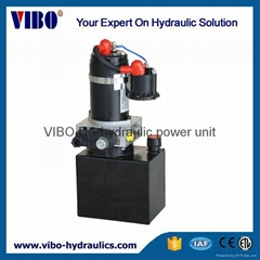 Hydraulic power pack for the Mini Electric Material Handling