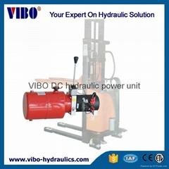 Hydraulic  power unit for manual