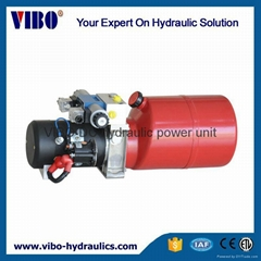 Hydraulic power unit for Sanitation Truck Covering