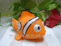 桔色小丑魚
